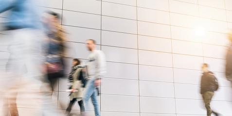 unrecognizable business people walking at a airport hall- Stock Photo or Stock Video of rcfotostock   RC-Photo-Stock