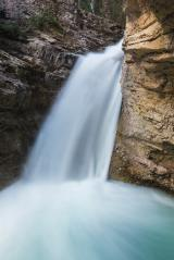 Upper Falls Johnston Canyon at the rocky mountains in banff canada : Stock Photo or Stock Video Download rcfotostock photos, images and assets rcfotostock | RC-Photo-Stock.: