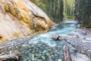 Upper Johnston Canyon Trail in the banff national park canada : Stock Photo or Stock Video Download rcfotostock photos, images and assets rcfotostock | RC-Photo-Stock.:
