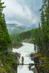 Upper Sunwapta Falls, Athabasca river in Jasper National Park, Canada.  : Stock Photo or Stock Video Download rcfotostock photos, images and assets rcfotostock | RC-Photo-Stock.: