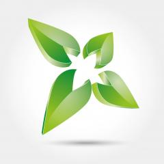 vector abstract nature leaf formation in green glossy colors 3d icon, logo design. Vector illustration. Eps 10 vector file. : Stock Photo or Stock Video Download rcfotostock photos, images and assets rcfotostock   RC-Photo-Stock.: