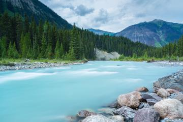 Vermillion River at the Numa Falls Canada  : Stock Photo or Stock Video Download rcfotostock photos, images and assets rcfotostock | RC-Photo-Stock.: