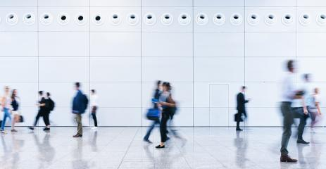 Viele Leute als Menge von Geschäftsleuten auf Messe- Stock Photo or Stock Video of rcfotostock | RC-Photo-Stock