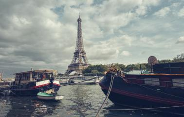view from the Seine shore to the Eiffel tower, Paris. France. : Stock Photo or Stock Video Download rcfotostock photos, images and assets rcfotostock | RC-Photo-Stock.:
