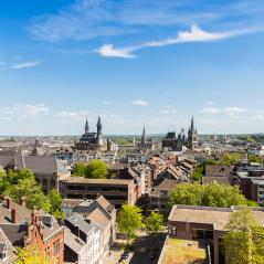 view of aachen city at summer- Stock Photo or Stock Video of rcfotostock | RC-Photo-Stock