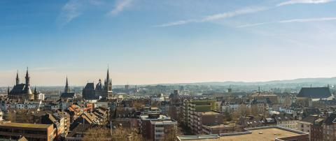 view of aachen city at the morning : Stock Photo or Stock Video Download rcfotostock photos, images and assets rcfotostock | RC-Photo-Stock.: