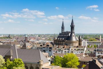view of aachen with town hall- Stock Photo or Stock Video of rcfotostock | RC-Photo-Stock