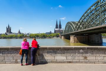 view of cologne at summer- Stock Photo or Stock Video of rcfotostock | RC-Photo-Stock