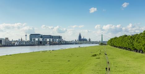 view of cologne city at spring- Stock Photo or Stock Video of rcfotostock | RC-Photo-Stock