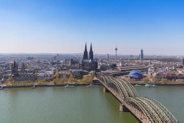 view of cologne city in North Rhine-Westphalia- Stock Photo or Stock Video of rcfotostock | RC-Photo-Stock