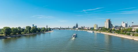view of Cologne city with cathedral- Stock Photo or Stock Video of rcfotostock | RC-Photo-Stock
