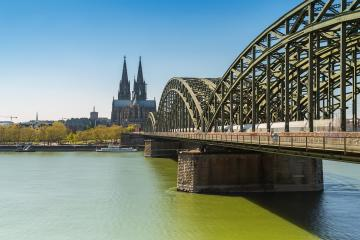 view of cologne city with cathedral at spring- Stock Photo or Stock Video of rcfotostock | RC-Photo-Stock