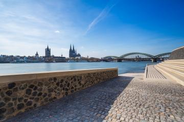 view of cologne from the Rhine Boulevard : Stock Photo or Stock Video Download rcfotostock photos, images and assets rcfotostock | RC-Photo-Stock.: