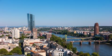 View of Frankfurt am Main at summer- Stock Photo or Stock Video of rcfotostock | RC-Photo-Stock