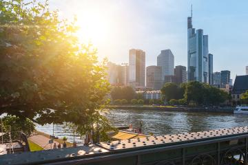 View of Frankfurt City at Summer in germany- Stock Photo or Stock Video of rcfotostock | RC-Photo-Stock