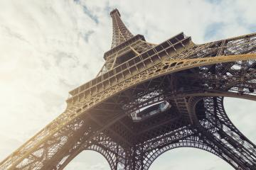 View of the Eiffel Tower at summer in paris, france- Stock Photo or Stock Video of rcfotostock | RC-Photo-Stock