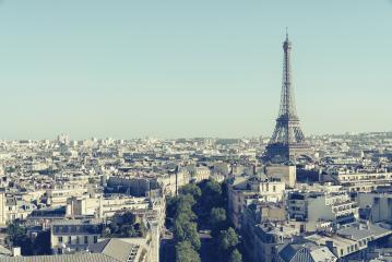 View of the Eiffel tower, Paris, France- Stock Photo or Stock Video of rcfotostock | RC-Photo-Stock
