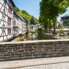View of the historic city of Monschau at the eifel : Stock Photo or Stock Video Download rcfotostock photos, images and assets rcfotostock | RC-Photo-Stock.: