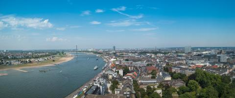 View of the old town of Dusseldorf panorama- Stock Photo or Stock Video of rcfotostock | RC-Photo-Stock