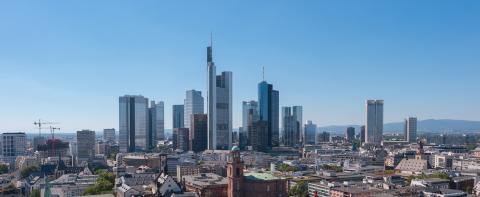 View of the skyline of Frankfurt- Stock Photo or Stock Video of rcfotostock | RC-Photo-Stock