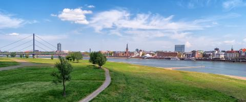 view on the historical town of Dusseldorf : Stock Photo or Stock Video Download rcfotostock photos, images and assets rcfotostock | RC-Photo-Stock.: