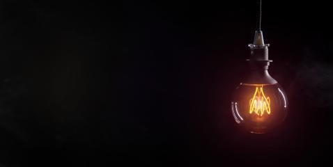 Vintage lightbulb on dark background- Stock Photo or Stock Video of rcfotostock | RC-Photo-Stock