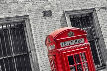 vintage red telephone box in London- Stock Photo or Stock Video of rcfotostock | RC-Photo-Stock