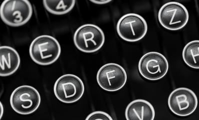 Vintage typewriter keys- Stock Photo or Stock Video of rcfotostock | RC-Photo-Stock
