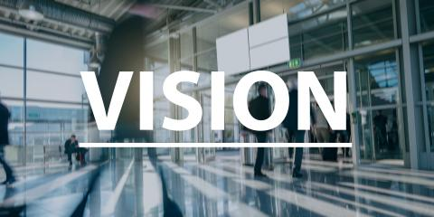 Vision text Concept image -  blurred Business people - Stock Photo or Stock Video of rcfotostock | RC-Photo-Stock