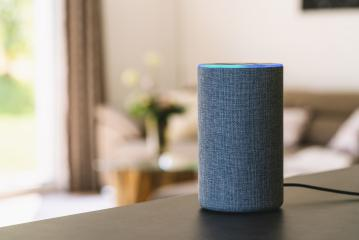 voice controlled smart speaker- Stock Photo or Stock Video of rcfotostock | RC-Photo-Stock
