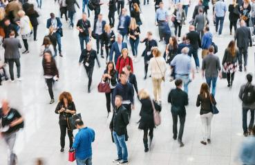 walking crowd of people at a fair floor- Stock Photo or Stock Video of rcfotostock   RC-Photo-Stock