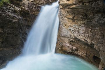 Waterfall at the Johnston Canyon canada  : Stock Photo or Stock Video Download rcfotostock photos, images and assets rcfotostock | RC-Photo-Stock.: