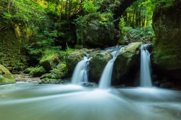 Waterfall with pond- Stock Photo or Stock Video of rcfotostock | RC-Photo-Stock