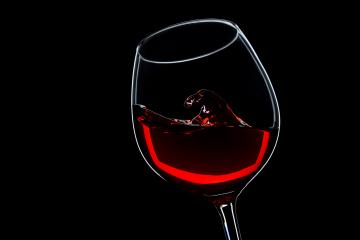 wave in a red wine glass : Stock Photo or Stock Video Download rcfotostock photos, images and assets rcfotostock | RC-Photo-Stock.: