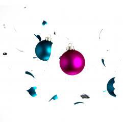 weihnachtskugel kollision- Stock Photo or Stock Video of rcfotostock | RC-Photo-Stock