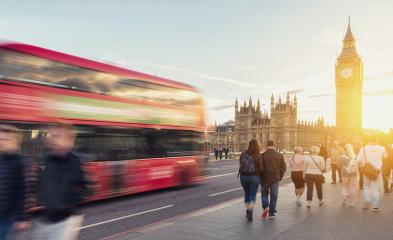 Westminster Bridge with big ben at sunset, London, UK- Stock Photo or Stock Video of rcfotostock | RC-Photo-Stock