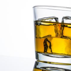 whiskey glass with ice on white- Stock Photo or Stock Video of rcfotostock   RC-Photo-Stock