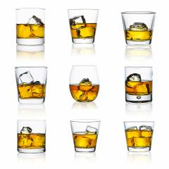 whiskey glasses on white set : Stock Photo or Stock Video Download rcfotostock photos, images and assets rcfotostock | RC-Photo-Stock.: