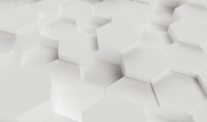white abstract hexagons background pattern, gaming Concept image - 3D rendering - Illustration - Stock Photo or Stock Video of rcfotostock | RC-Photo-Stock