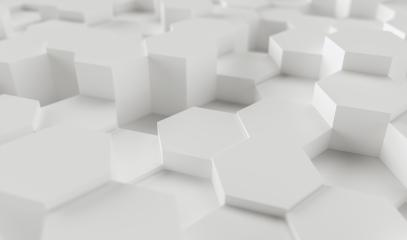 white abstract hexagons background pattern, gaming Concept image - 3D rendering - Illustration - Stock Photo or Stock Video of rcfotostock   RC-Photo-Stock