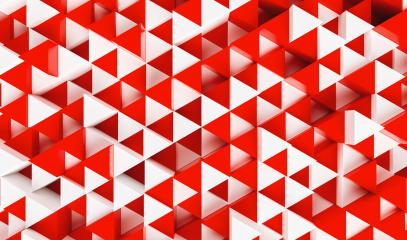 White and red triangular abstract background, Grunge surface - 3d rendering - Stock Photo or Stock Video of rcfotostock | RC-Photo-Stock