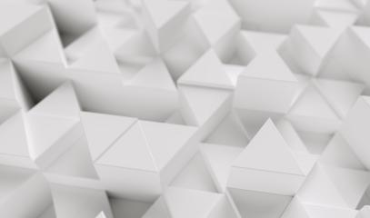 White background with triangles - 3d rendering- Stock Photo or Stock Video of rcfotostock   RC-Photo-Stock