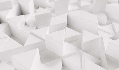 White background with triangles - 3d rendering- Stock Photo or Stock Video of rcfotostock | RC-Photo-Stock