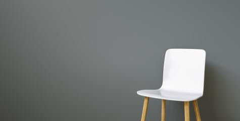 white chair in a waiting room of a office in front of a black wall, with copy space for individual text  : Stock Photo or Stock Video Download rcfotostock photos, images and assets rcfotostock | RC-Photo-Stock.: