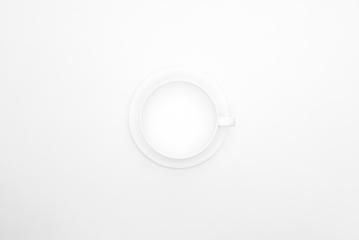 white coffee cup from above- Stock Photo or Stock Video of rcfotostock | RC-Photo-Stock