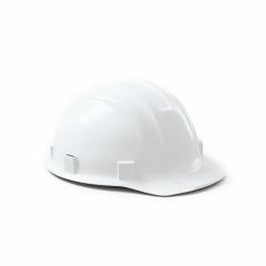 White engineer safety helmet isolated on white background. 3D rendering- Stock Photo or Stock Video of rcfotostock | RC-Photo-Stock