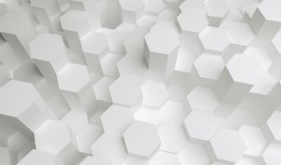 white hexagons background pattern, gaming Concept image - 3D rendering - Illustration - Stock Photo or Stock Video of rcfotostock | RC-Photo-Stock