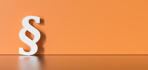 white paragraph sign on orange background with empty space on left side. 3D Rendering- Stock Photo or Stock Video of rcfotostock | RC-Photo-Stock