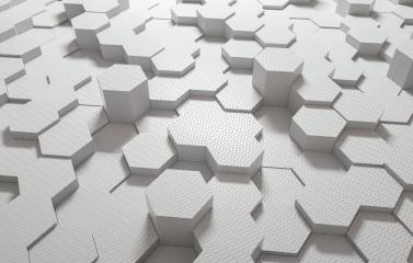 white plastic hexagonal background - 3D Rendering : Stock Photo or Stock Video Download rcfotostock photos, images and assets rcfotostock | RC-Photo-Stock.: