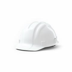 White Plastic safety helmet on white background. 3D rendering- Stock Photo or Stock Video of rcfotostock | RC-Photo-Stock